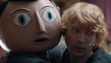 Frank – Trailer mit Pappkopf und Gallerie