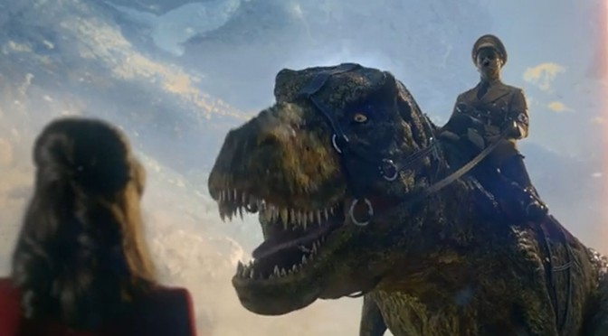 Iron Sky 2 Trailer – Now Hitler rides a T-Rex