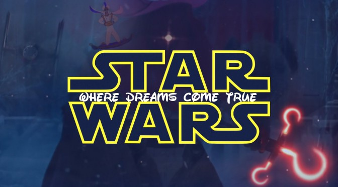 Star Wars: The Force Awakens meets Disney [Mashup]